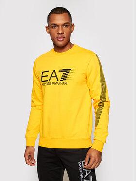 EA7 Emporio Armani EA7 Emporio Armani Bluză 3KPM67 PJ05Z 1604 Galben Regular Fit