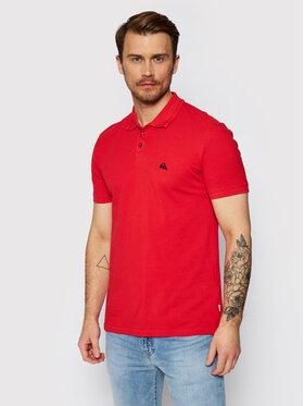 Quiksilver Quiksilver Тениска с яка и копчета Loia EQYKT04123 Червен Slim Fit