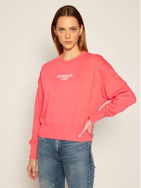 Calvin Klein Jeans Calvin Klein Jeans Mikina J20J214431 Ružová Regular Fit