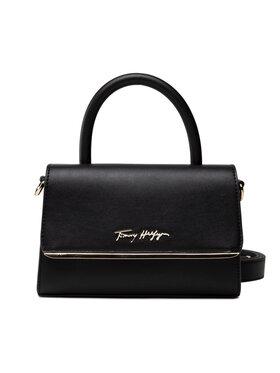 Tommy Hilfiger Tommy Hilfiger Kabelka Modern Bar Bag Strap AW0AW10099 Černá