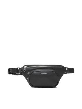 Calvin Klein Jeans Calvin Klein Jeans Saszetka nerka Trapezoid Shadow Waistbag K60K608694 Czarny