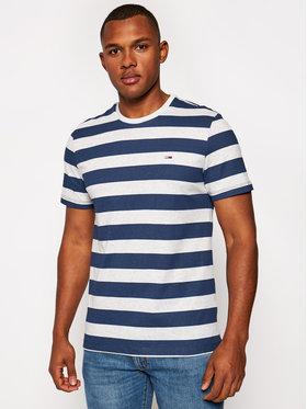 Tommy Jeans Tommy Jeans T-Shirt Tjm Heather Stripe Tee DM0DM06542 Granatowy Regular Fit
