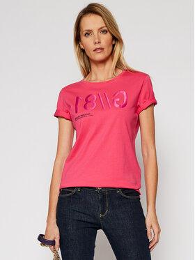 Guess Guess T-Shirt G 81 W1RI0B I3Z00 Ροζ Regular Fit