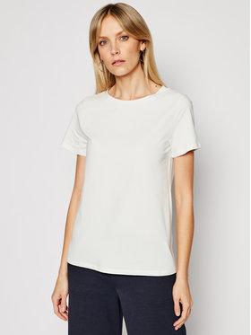 Weekend Max Mara Weekend Max Mara T-shirt Multif 59710311 Blanc Regular Fit
