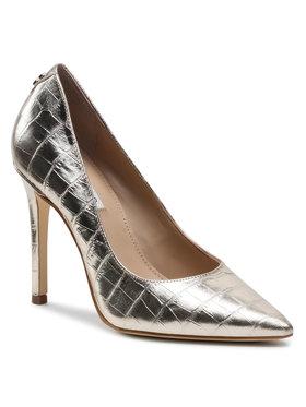 Guess Guess Pantofi cu toc subțire Gavi4 FL5GV4 LEM08 Auriu