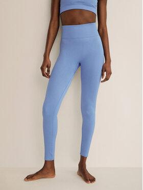 Mango Mango Leggings Apolo 87085639 Kék Slim Fit