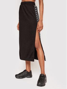 Kappa Kappa Midi sukňa Ismini 309092 Čierna Regular Fit