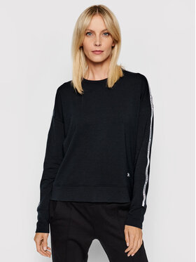 Under Armour Under Armour Bluza Ua Rival Terry Taped Crew 1360905 Czarny Loose Fit