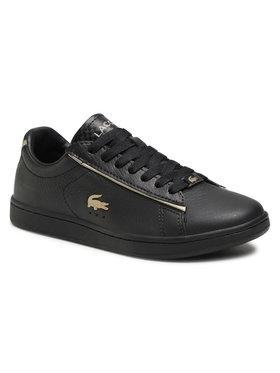Lacoste Lacoste Sneakersy Carnaby Evo 0721 3 Sfa 7-41SFA003202H Czarny