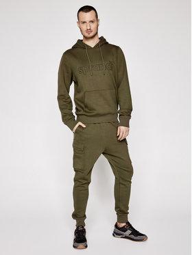 Sprandi Sprandi Sweatshirt SS21-BLM003 Grün Regular Fit