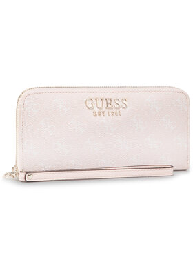 Guess Guess Velká dámská peněženka Lorenna (SG) Slg SWSG76 71460 Růžová