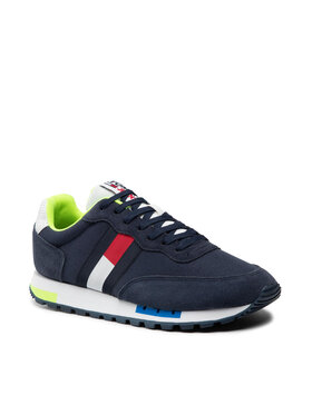 Tommy Jeans Tommy Jeans Sneakersy Retro Tjm Mix Pop Runner EM0EM00725 Granatowy