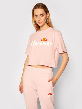 Ellesse Ellesse T-Shirt Alberta SGS04484 Růžová Cropped Fit