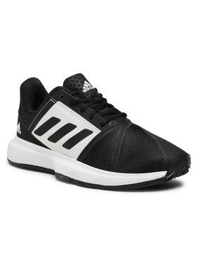 adidas adidas Обувки CourtJam Bounce M Clay FX1497 Черен