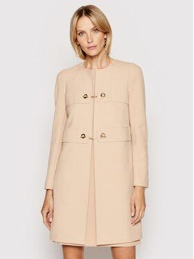 Rinascimento Rinascimento Prechodný kabát CFC0102462003 Ružová Regular Fit