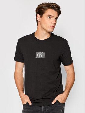 Calvin Klein Jeans Calvin Klein Jeans T-Shirt J30J318201 Czarny Regular Fit