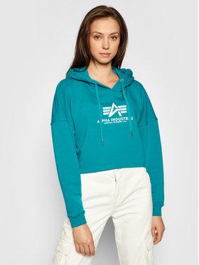Alpha Industries Alpha Industries Sweatshirt Basic 116057 Blau Oversize