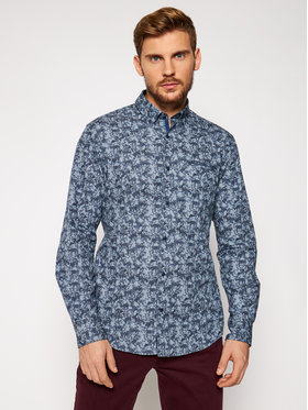 Pierre Cardin Pierre Cardin Marškiniai 5893/000/27354 Tamsiai mėlyna Modern Fit