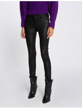 Morgan Morgan Spodnie materiałowe 212-PIKA Czarny Skinny Fit