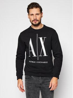 Armani Exchange Armani Exchange Sweatshirt 8NZMPA ZJ1ZZ 1200 Noir Regular Fit