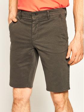 Boss Boss Pantalon scurți din material Schino 50403772 Gri Slim Fit