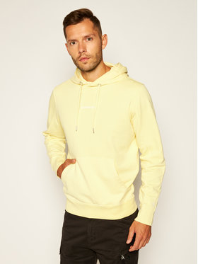 Calvin Klein Jeans Calvin Klein Jeans Sweatshirt Institutional J30J314690 Jaune Regular Fit