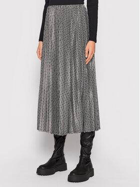 Gestuz Gestuz Plisovaná sukňa Fridagz 10905517 Čierna Regular Fit