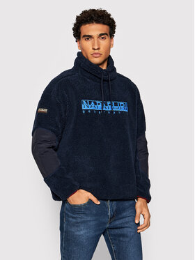Napapijri Napapijri Fliso džemperis Teide T NP0A4FKY Tamsiai mėlyna Regular Fit