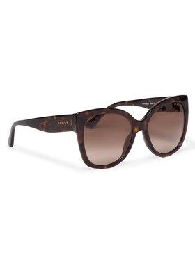 Vogue Vogue Okulary przeciwsłoneczne 0VO5338S W65613 Brązowy