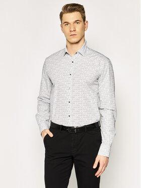KARL LAGERFELD KARL LAGERFELD Koszula 605003 501688 Biały Slim Fit
