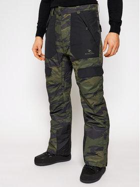 Rip Curl Rip Curl Spodnie snowboardowe Rocker SCPCN4 Zielony Relaxed Fit