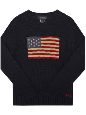 Polo Ralph Lauren Polo Ralph Lauren Sweter Summer II 322668285001 Granatowy Regular Fit