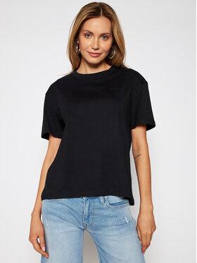 Pepe Jeans Pepe Jeans T-Shirt Eva PL504854 Czarny Regular Fit