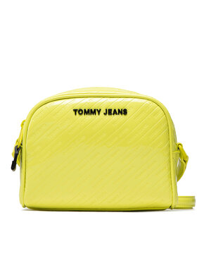 Tommy Jeans Tommy Jeans Torebka Tjw Pu Crossover Emboss Patent AW0AW11020 Zielony