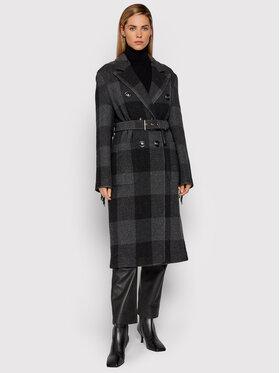 Pinko Pinko Žieminis paltas Marziale 1G16HN 8566 Pilka Regular Fit