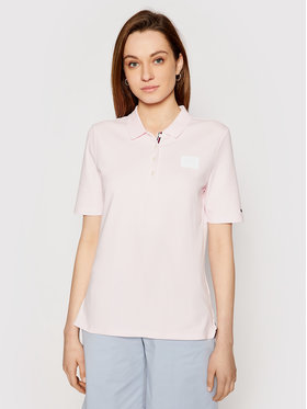 Tommy Hilfiger Tommy Hilfiger Polo WW0WW32607 Rosa Regular Fit