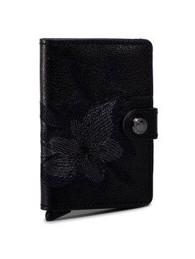 Secrid Secrid Малък дамски портфейл Miniwallet MSt Stitch Magnolia Черен