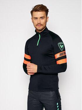 Rossignol Rossignol Тениска с дълъг ръкав Hero RLJML04 Тъмносин Classic Fit