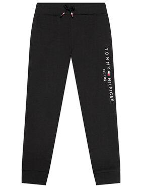 Tommy Hilfiger Tommy Hilfiger Teplákové kalhoty Essential KS0KS00214 Černá Regular Fit
