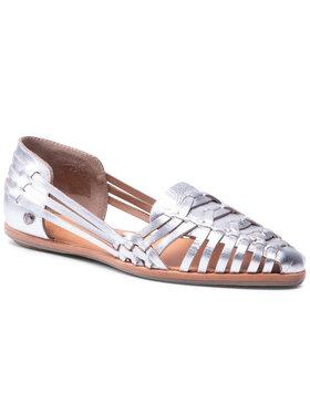 Pepe Jeans Pepe Jeans Ballerinas Melrose Metal PLS10294 Silberfarben