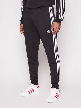 adidas adidas Melegítő alsó 3-Stripes GN3458 Fekete Fitted Fit