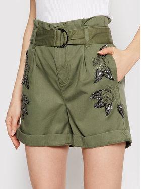 Liu Jo Liu Jo Kratke hlače WA1282 T4762 Zelena Regular Fit