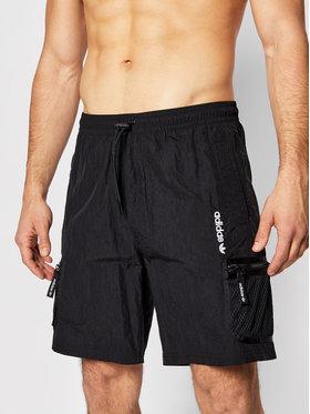 adidas adidas Szorty sportowe Adv Wvn GN2341 Czarny Regular Fit