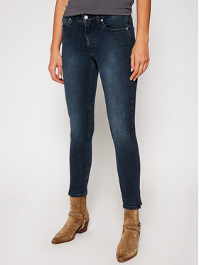 Calvin Klein Jeans Calvin Klein Jeans Jeansy Skinny Fit J20J214412 Granatowy Skinny Fit