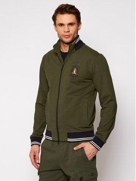 Aeronautica Militare Aeronautica Militare Sweatshirt 211FE1580F424 Grün Regular Fit