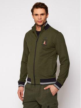 Aeronautica Militare Aeronautica Militare Sweatshirt 211FE1580F424 Vert Regular Fit