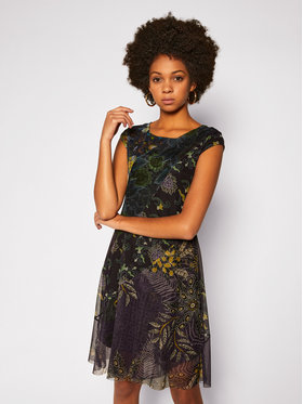 Desigual Desigual Každodenné šaty Houston 20WWVK61 Farebná Regular Fit