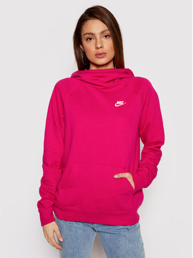 Nike Nike Bluza Essentials Funnel Po Flc BV4116 Różowy Standard Fit