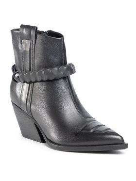 Gino Rossi Gino Rossi Členková obuv V398-282-1 Čierna