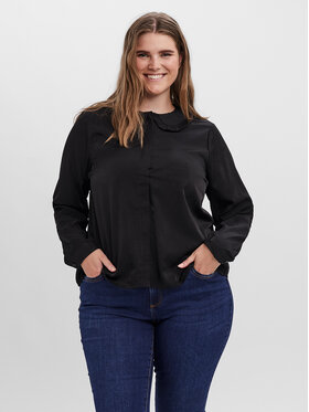Vero Moda Curve Vero Moda Curve Риза Manny 10259341 Черен Regular Fit